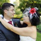 A Lively Red and Blue Wedding in Toronto, Ontario